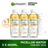 Garnier Micellar Water Biphase 400ml Pack of 3 thumbnail