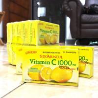 Sidomuncul Vitamin C 1000 MG - Menjaga Daya Tahan Tubuh, Antioksidan