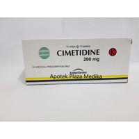 Cimetidine Tablet 200 MG - Obat Maag, Asam Lambung