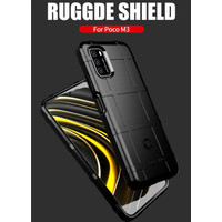 POCO M3 CASE MODEL RUGGED SHIELD COVER ARMOR BUMPER