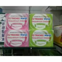SP-Troches Meiji Melon / Strawberry - Untuk Radang, Sakit Tenggorokan