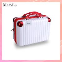 Marvilo Tas Koper Makeup Kosmetik Tahan Air 14 Inchi Tahan Air - Putih thumbnail