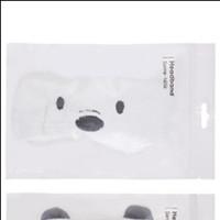 Miniso Official We Bare Bears-Headband - Ice bear thumbnail