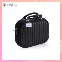 Marvilo Tas Koper Makeup Kosmetik Tahan Air 12 Inchi Tahan Air - Hitam thumbnail