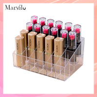 Marvilo Make Up Organizer Akrilik 24 Sekat Tempat Lipstik thumbnail