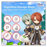 Tempest set +54 shadow set Ignore magic Ragnarok Forever Love PC Onli thumbnail