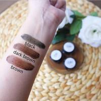 Hena Alis Keshobrow + Cetakan Alis Complete Package - Dark brown thumbnail