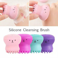 spons gurita facial pembersih wajah face washing brush spons thumbnail