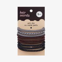 Hair Secrets Anti Slip Hair Tie (9 pcs) thumbnail