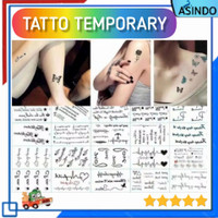 Tatto Temporary - Tato Temporer Waterproof Stiker Tatto Sementara - P1 thumbnail