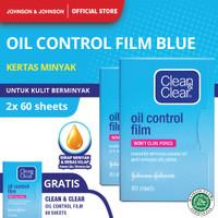 Clean & Clear Oil Control Film Kertas Minyak Wajah 60S - Buy 2 Get 1 thumbnail