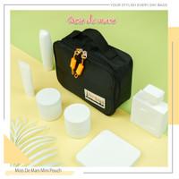 MOIS DE MARS Pouch Case Cosmetic Toiletry Bag - Hitam thumbnail