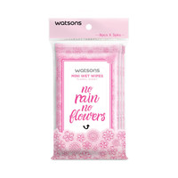 Watsons Mini Wet Wipes Floral 8x3s thumbnail