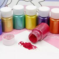Pewarna Pigment Natural Metalic Shimmer Mica Powder Bubuk Mika Kilap thumbnail