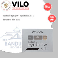 Wardah EyeXpert Eyebrow Kit 3 G Warna Alis Alis Mata thumbnail