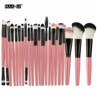 maange brush original 22 set make up eyeshadow blush on eyeliner thumbnail