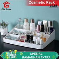 GM Bear Rak Kosmetik Mini Makeup Organizer Storage Box-Cosmetic - Putih thumbnail