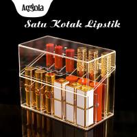 Kotak Lipstik Organizer D20 Tempat Penyimpanan Lipstik Rak Kosmetik - 18 Slot thumbnail