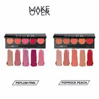 Make Over Lip Color Palette 5 x 1.7 g - Retro red thumbnail