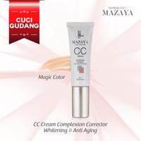 [CUCI GUDANG] Mazaya CC Cream Complexion Corrector Whitening - Magic Color thumbnail