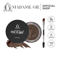 Madame Gie Madame Brow On Point Eyebrow Pomade Cream Pensil - BOP04 CARAMEL thumbnail