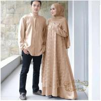 Jual Baju Couple Pasangan Muslim Model Gamis Couple Suami Istri Megan Jakarta Pusat Raja Manggaleh Tokopedia