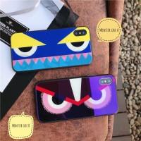 Iphone case / casing iphone soft case Fendi Monster