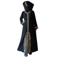 Jual abaya polos abaya hitam polos gamis polos gamis pesta abaya jetblack Murah