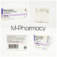 [BOX] Obat Jerawat Roaaccutane 10mg by Roche / Jamin Ori 100%