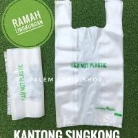 Harga kantong 17x32cm ramah lingkungan dari singkong produk   antitipu.com