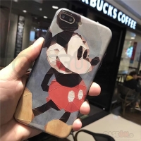 Iphone case / casing iphone soft case hard case Mickey mozaic 3Drelief
