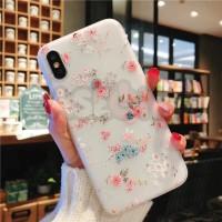 Iphone case / casing iphone soft case hard case 3Drelief spring flower