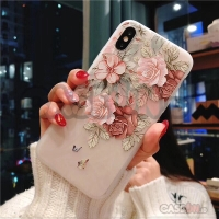 Iphone case / casing iphone soft case hard case watercolor flower