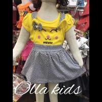 Pakaian stelan baju anak model kodok FASHION perempuan umur 0-18bulan
