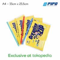 ( 1 PC ) PIPO Zipper PP - A4 GARANSI TUKAR BARU