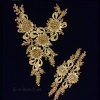 Renda Bordir Cantik Gold