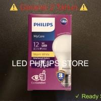 Lampu Bohlam LED Philips 13 Watt Kuning/Warm White (13W 13 W 13Watt