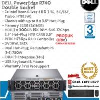 DELL Server R740 2xIntel Xeon Silver 4110 DoubleSocket Custom Spec