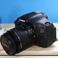 kamera Canon 600D kit 18-55mm / canon eos 600d