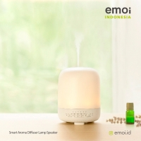 Smart Aroma Diffuser Lamp Speaker- white Oct'18 price