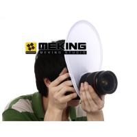 MEKING Flash Diffuser Softbox Reflector for Speedlite Camera DSLR 30cm