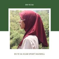 Tripadma Hijab / kerudung / Jilbab Sport / Olahraga Maxwell