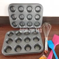 Loyang Muffin mini isi 12/ Loyang Cupcakes mini isi 12