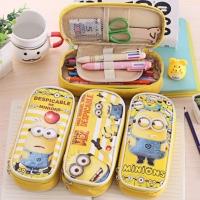 PANACHE Happy MINIONS Pencil Case , Kotak Pensil