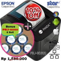 POS RECEIPT MINI PRINTER KASIR KERTAS 80 MM THERMAL(EPSON/STAR SUPORT)