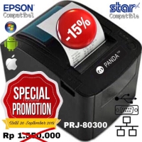 POS MINI PRINTER KASIR 80 MM THERMAL PANDA PRJ-80300II (USE) SPEED 300