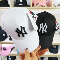 Frenchie ny new york yankees cap snapback topi import pria trucker