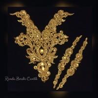 Renda choker full Payet Gold