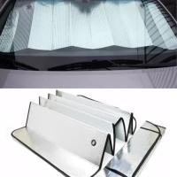 Tabir surya aluminium penahan panas mobil sun shade