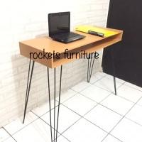 Meja Kantor 2 Layer Meja Kerja Meja Komputer Meja Laptop